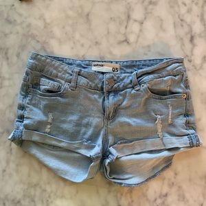 Garage jean shorts / size 5